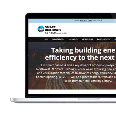 Smart Buildings Center website home page