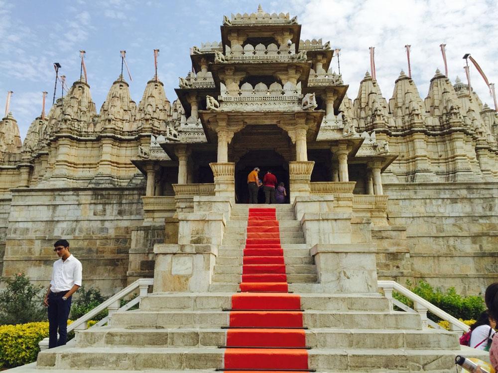 Ranakpur Jain Temple in Rajasthan India