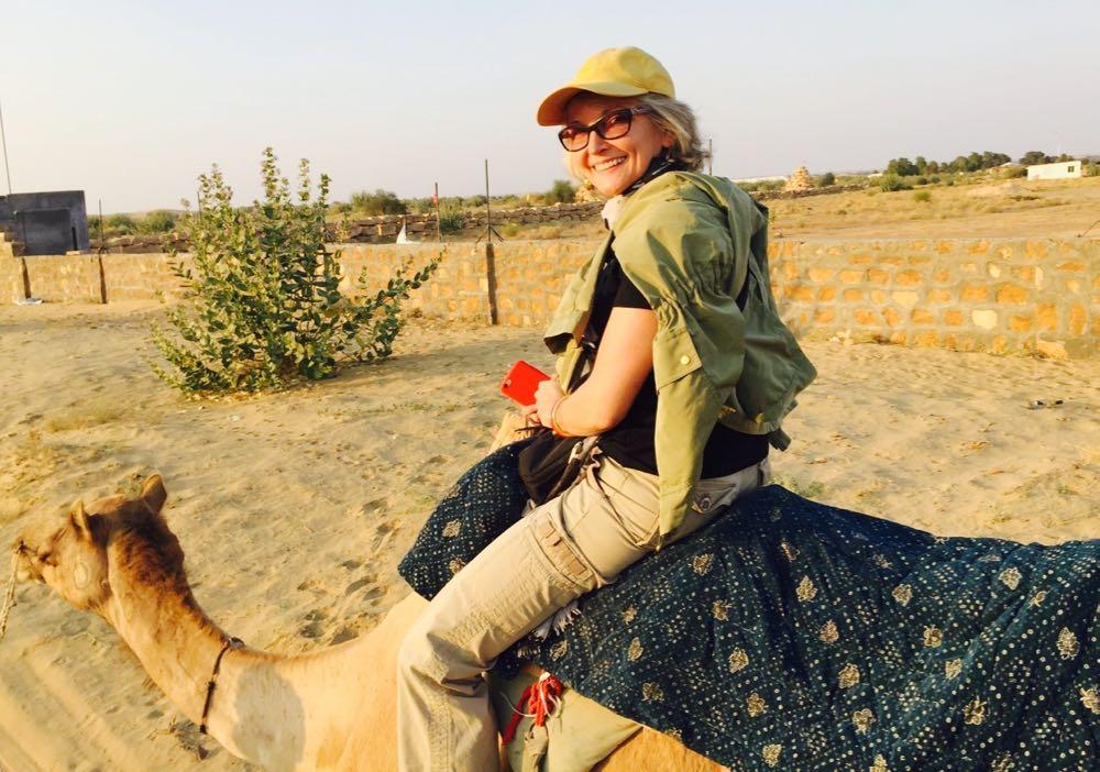 Leslie-on-a-Camel