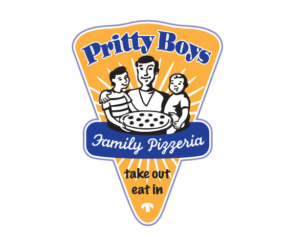 Pretty Boys Family Pizzeria logo