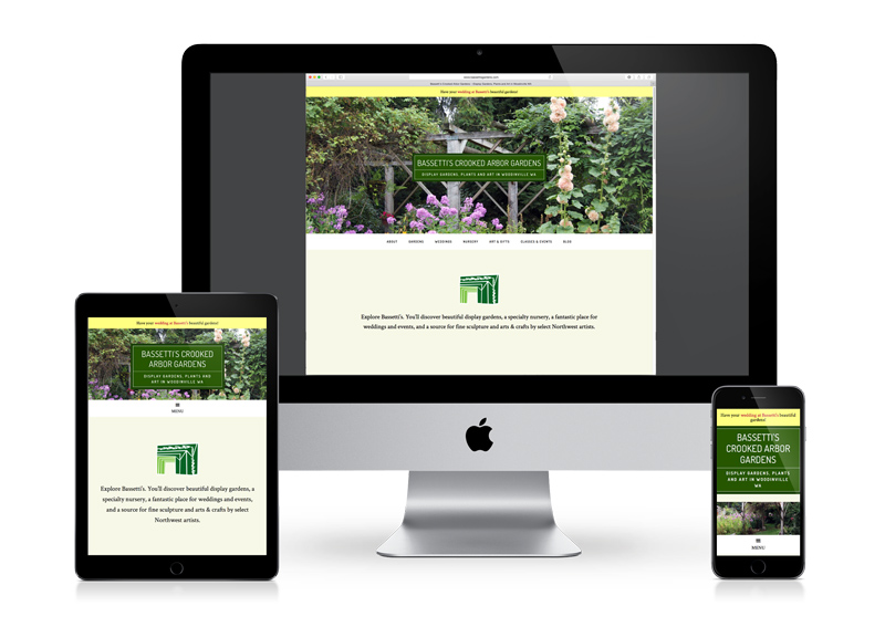 responsive small business website